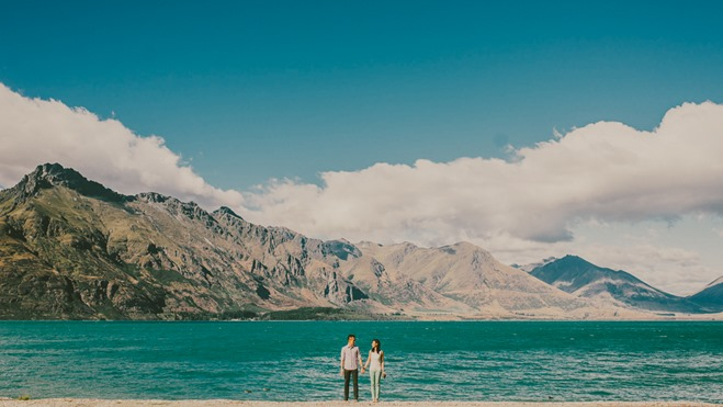 Lake Wakatipu Engagement Session