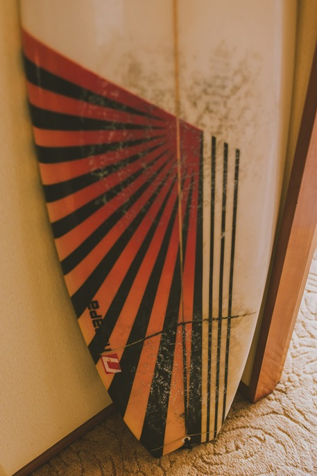 surfboard wedding