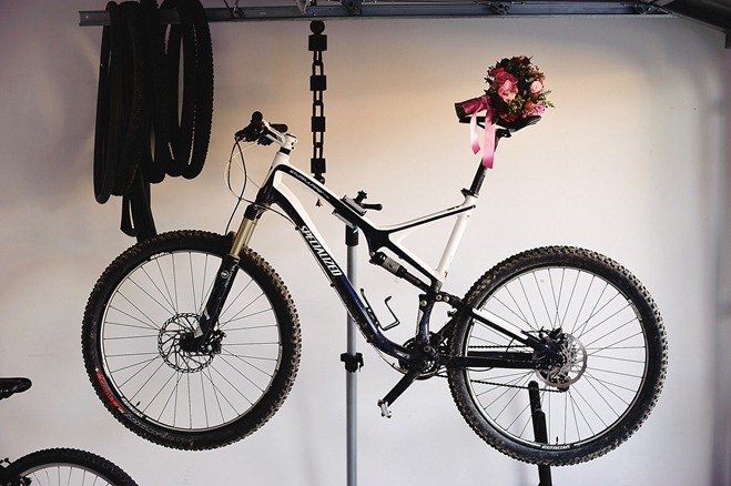 mountain bike bouquet