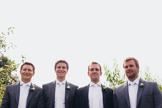 groomsmen faces