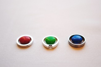Ring shot with M&Ms