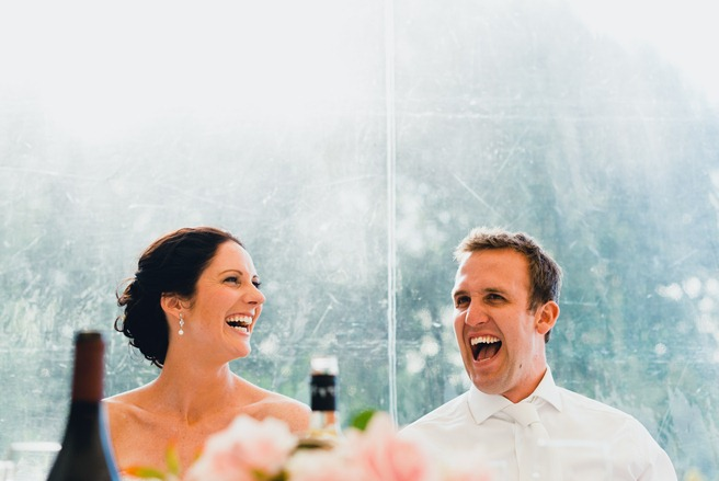 wedding speeches laughter