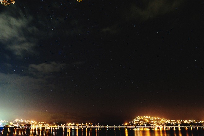 Porirua Harbour Night