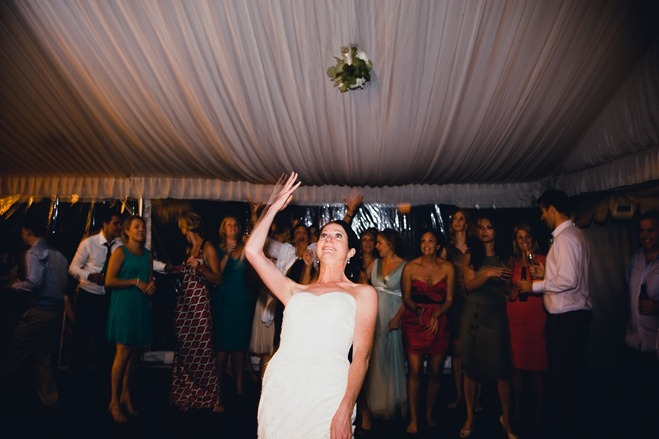 bride bouquet throw