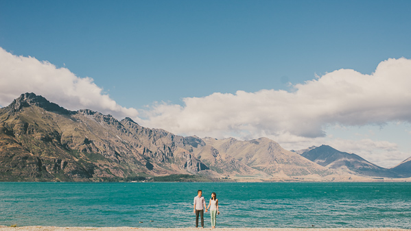 Singapore engagement session New Zealand Otago Queenstown