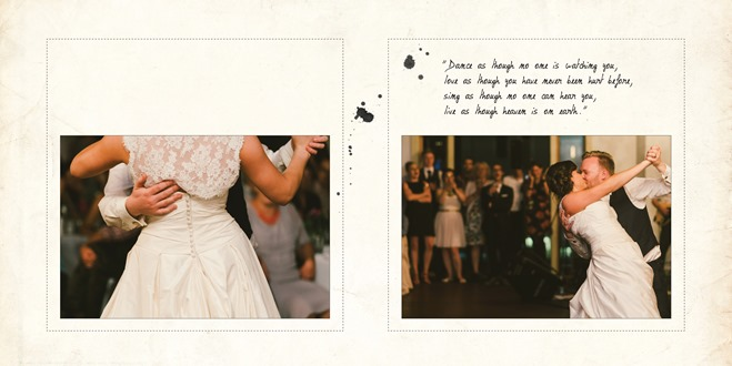 Wedding Album - Aneta Naylor, design & post production, WE DO Photography & Design Ltd
