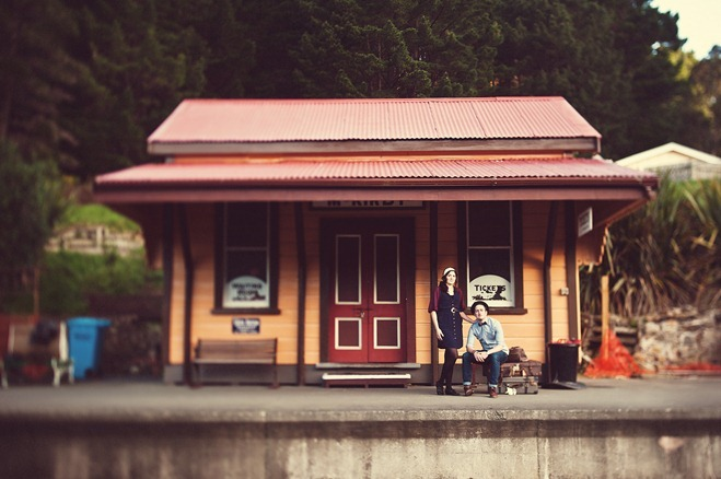 Train Station Photo shoot