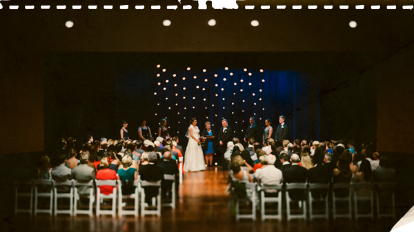 Little Theatre wedding