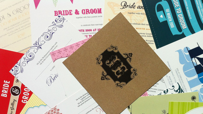 Wellington Wedding Show Invitation Collection