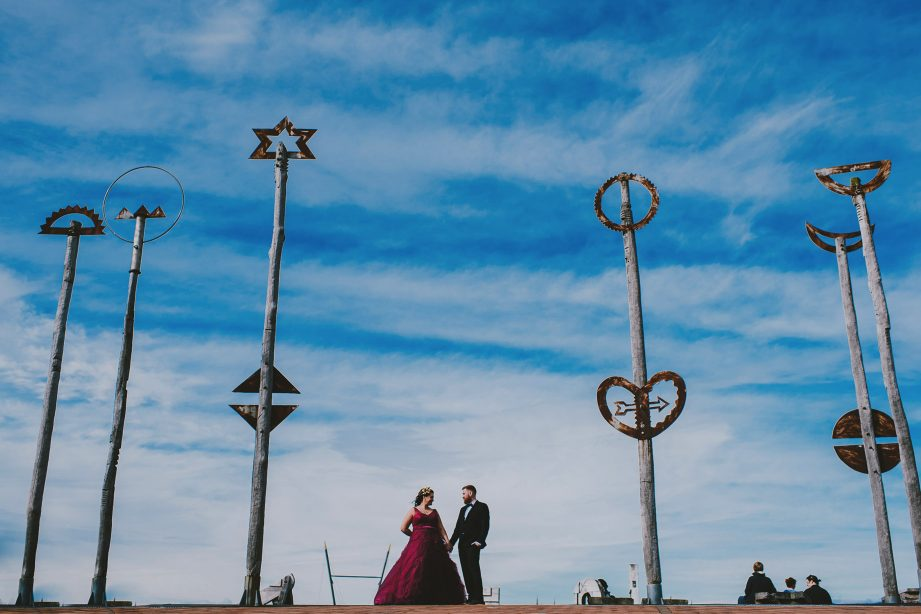 Wellington Waterfront wedding photos