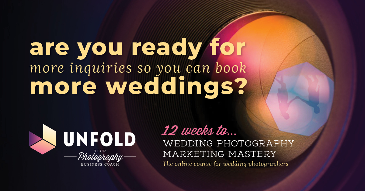 Wedding Photography Business Mentor